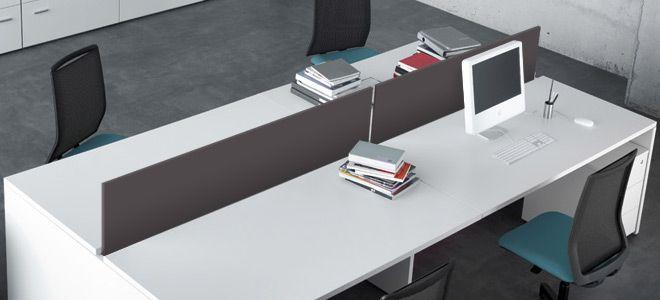 Separadores para mesas de oficina - Eurodesing